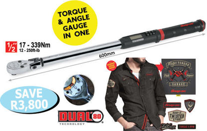 """Picture of XXOCT102 TechAngle Torque Wrenches includes Long Sleeve """"Oil Can"""" Shirt XL"""