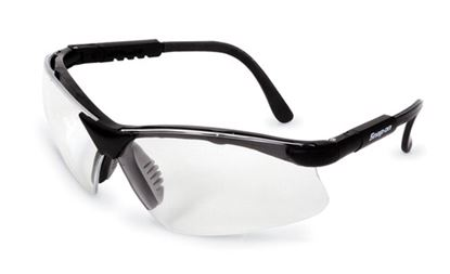 Picture of GLASS30BK Glasses, Safety, Black Frame/Clear Lens