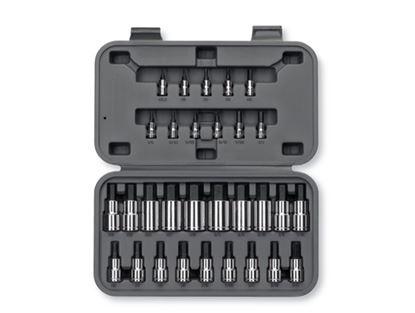 Picture of BLPHSSC30 Set, General Service, Hex Bit Sockets, 30 pieces