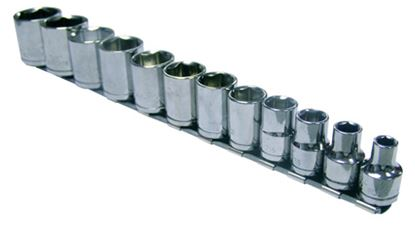 Picture of BLPSM12SET12Y-WO Skt Set Shallow 1/2 Drive S/Hex Metric 12pc  (12-24mm)