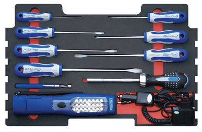 Picture of MOD.258SR43F Screwdriver Set 10pc for KMC All Weather Top Chest