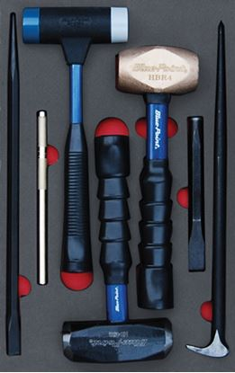 Picture of MOD.369SH42D - Hammer / PryBar / Chisel Set; 7pc