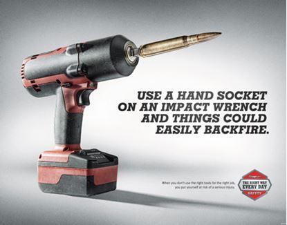 Picture of EDUPOSTER-IMPACT Impact Gun