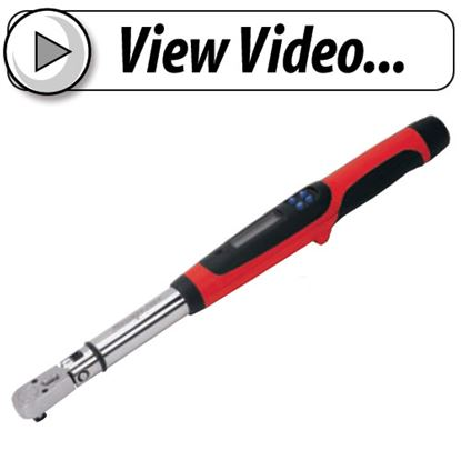Picture of TECH3R250-V Techwrench Torque Wrench Video