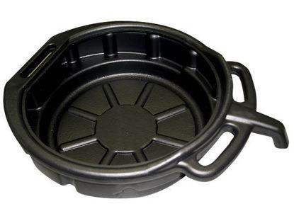 Picture of OILDRAINBL Oil Drain Pan plastic 15ltr