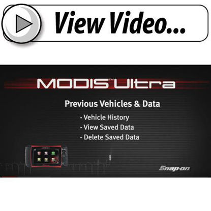 Picture of Previous Vehicles & Saved Data MODIS™ Ultra