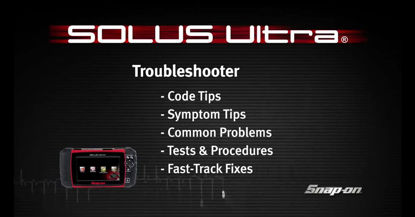 Picture of SOLUS Ultra Troubleshooter (Certain Vehicles)