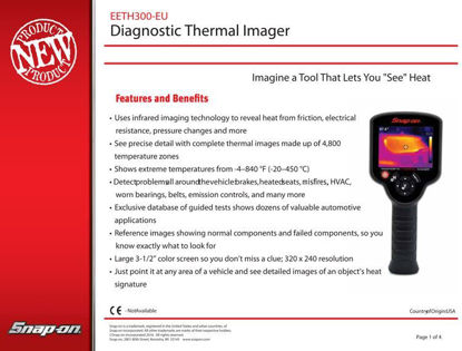 Picture of Diagnostic Thermal Imager - New Product Announcement