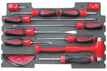 Picture of MOD.484SR43F 12pc Screwdriver & Hammer Set for KMC All Weather Top Chest