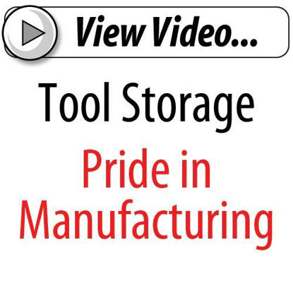 Picture of Pride in Manufacturing Tool Storage