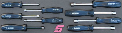 Picture of MOD.460SH45S - Nut Driver Set 5-13mm; 9Pc - Metric