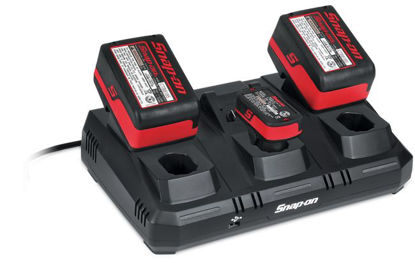 Picture of CTCEU123 - 14.4V and 18V Multi Bay Charger