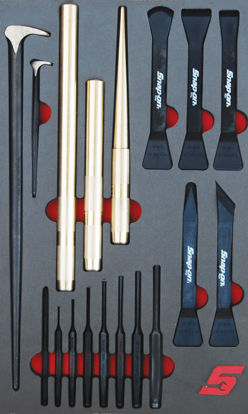 Picture of MOD.318SH42D - Punches, Chisels and Prybar Set; 18Pc