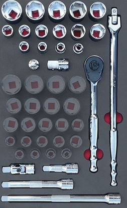 """Picture of MOD.378SH42DF - 1/2"""" General Service Set; 23Pc - Imperial"""