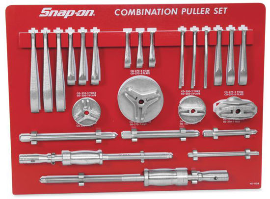 Picture of CG2500BS-WO Puller Set Interchangeable Heavy Duty Manual (with Tool Control Board)