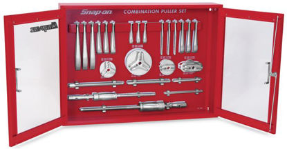 Picture of CG2500BSB-WO Puller Set Interchangeable Heavy Duty Manual (with Tool Board & Wall Cabinet)