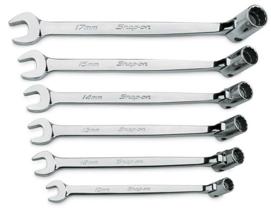 Picture of FHOM606B Flexhead combination Spanner Set 6pc
