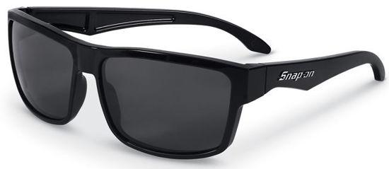 Picture of SOTQSBSM02 - Shiny Black Frame Smoke Lens Torque Sunglasses