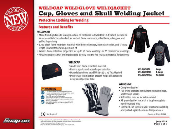 Picture of WELD CLOTHING Cap Glove Jacket