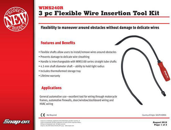 Picture of WINS240R 3pc Flex Wire Insertion Tool