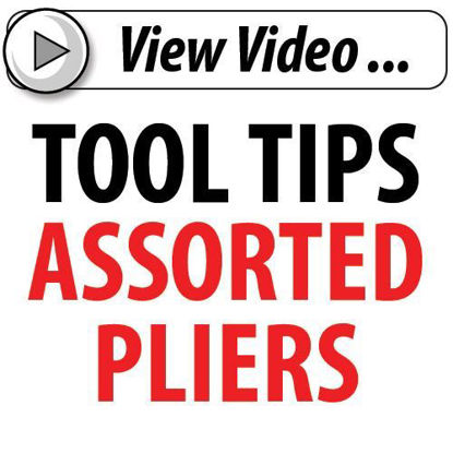 Picture of Tool Tips Assorted Pliers