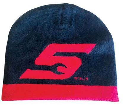 Picture of BEANIE-S Beanie S logo knitted