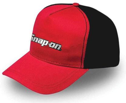 Picture of CAP-2TONE-SO - Cap black  Red SO logo