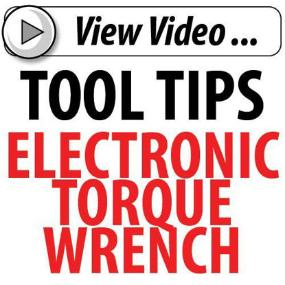 Picture of Tool Tip Electronic Torque Wrench
