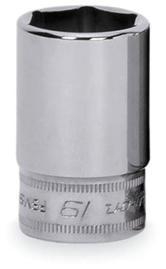 Picture of FSMS19 Skt  Semi Dp 19mm 6pt