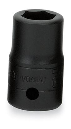 """Picture of IM160A - 1/2"""" Shallow Impact Socket 6Pt 1/2"""""""