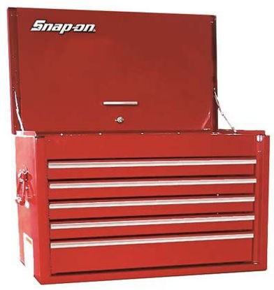 Picture of KRA2055FPBO - 5-Drawer Top Chest (Red)