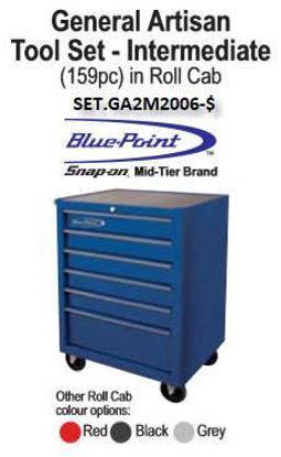 Picture of SET.GA2M2006-$ General Artisan Intermediate 159pc & RollCab