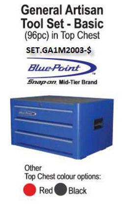 Picture of SET.GA1M2003-$ General Attisan Basic 96pc + KRB2003