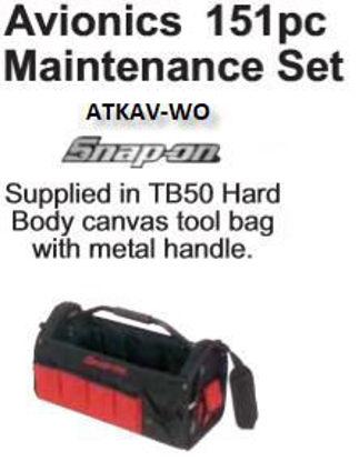 Picture of ATKAV-WO Avionics Set 151pc+Tote Bag