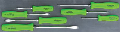 Picture of MOD.843SH45S-G - Hard Handle Screwdriver Set; 7Pc - Green