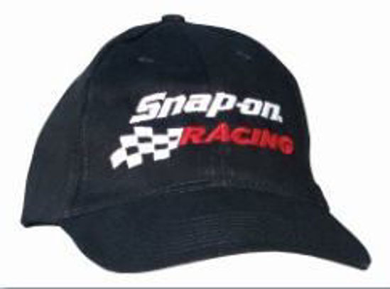 Picture of CAP-RACE-R Cap Snap-on Racing Black