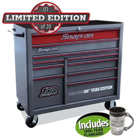 Picture of XXSEP255 10 Drawer Heritage Wide includes 100th Year Flankard