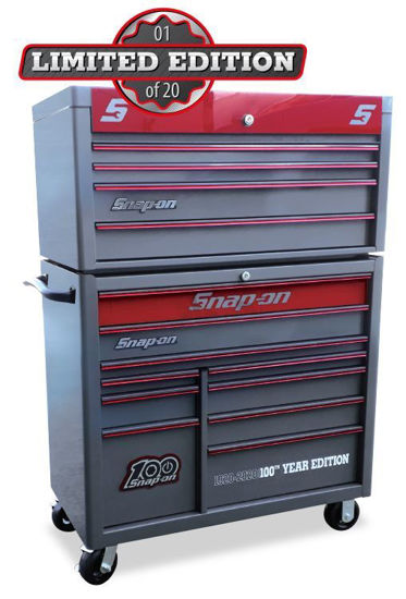 Picture of XXSEP257 14 Drawer Combo includes set of 100th Year Flankards