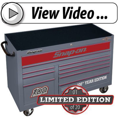 Picture of 100th Year Limited Edition Roll Cabinet Video