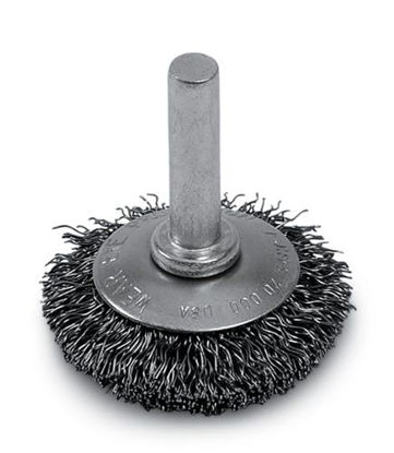 Picture of AC212A Wire Brush Cup Flared 1 1/2 in Brush Diameter 1/4