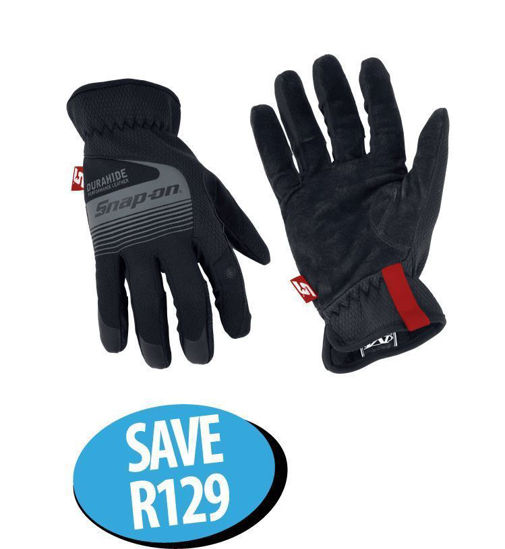Picture of XXJUN213 Technician's Gloves XLarge With Leather Palm & Touch Screen Capability