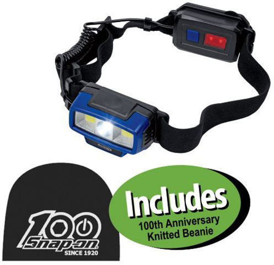Picture of  XXJUL222 Multi-function LED Headlamp Includes 100th Anniversary  Knitted Beanie