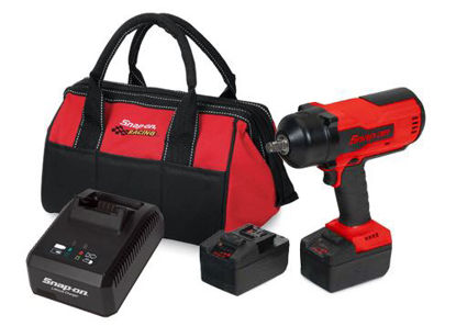 Picture of CT9075U2TB-720-WO - 18V 1/2' Brushless Impact Kit with Single Charger, 2 x Batteries and Tote Bag - Red