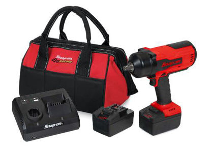 """Picture of CT9075U2TB-WO - 18V 1/2"""" Cordless Brushless Impact Kit with Dual Charger, 2 x Batteries and Tote Bag - Red"""