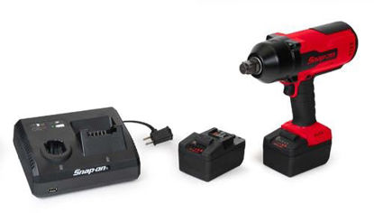"""Picture of CT9100U2-WO - 18V Cordless 3/4"""" Brushless Impact with 2 x Batteries - Red"""