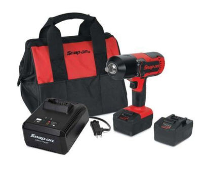 Picture of CT8810BU2-WO - 18V Cordless Impact Kit 3/8 with 2 x Batteries - Red