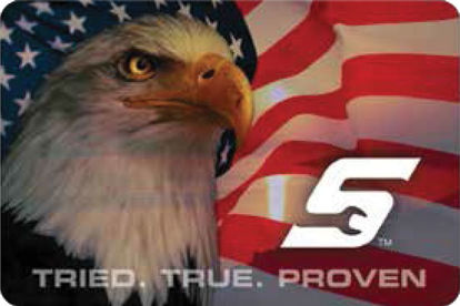 Picture of SNP1465-EA - Decal Eagle - Each