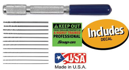 Picture of XXNOV210 - Micro Utility Drill Set includes Decal