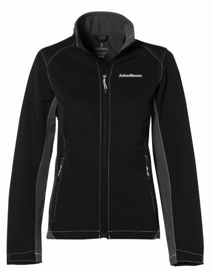 Picture of JACKET4022FJB-XL - Jacket Iberico Ladies Black JohnBean - XL