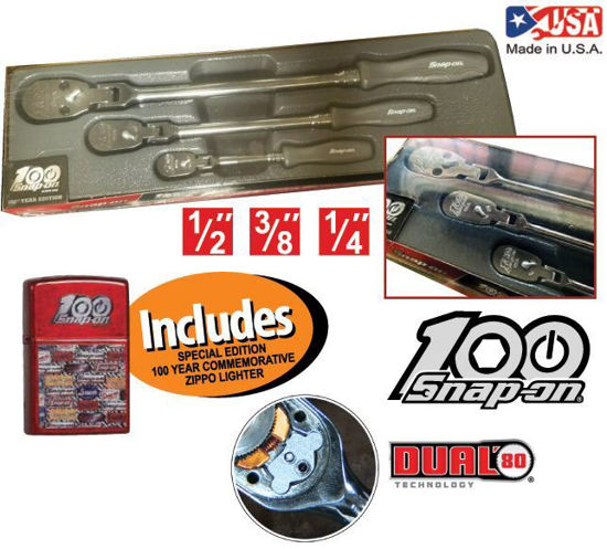 Picture of  XXDEC201 - Special Edition Ratchet Set (3pc) Includes Special Edition Zippo Lighter